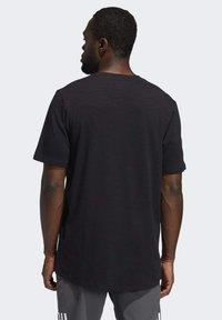adidas Performance - CITY ELEVATED T-SHIRT - Basic T-shirt - black - 2
