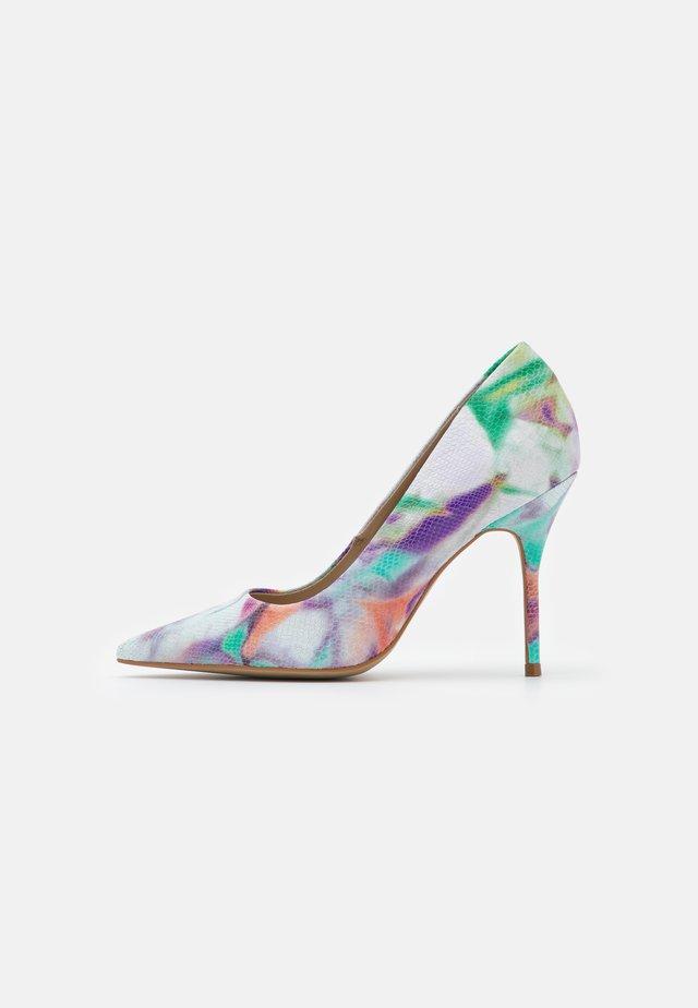GALICIA - Lodičky na vysokém podpatku - multicolor