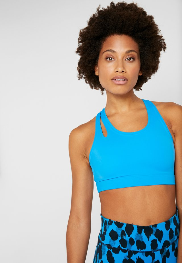 MOVE AROUND SPORTS BRA - Sports bra - fierce blue
