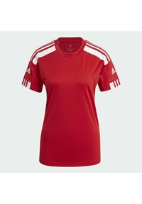 adidas Performance - SQUADRA 21 - T-shirts med print - team power red white - 7