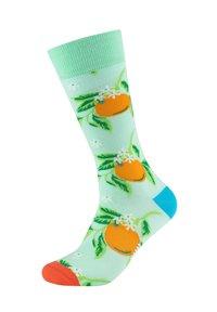 Fun Socks - 2ER-PACK - Socks - caribic green - 1