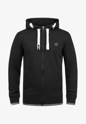 BENJAMIN - Sweater met rits - black