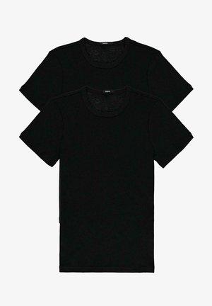 2 MULTIPACK - Basic T-shirt - nero