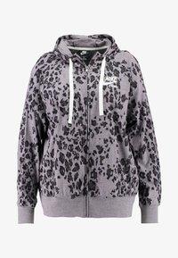 Nike Sportswear - GYM PLUS - Cardigan - grey/anthracite - 4