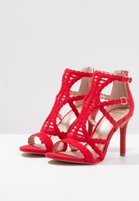 Bullboxer - High heeled sandals - light red - 4