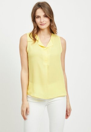 VILUCY TOP  - Button-down blouse - goldfinch