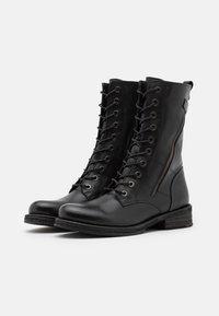 Felmini - COOPER - Lace-up boots - black - 5