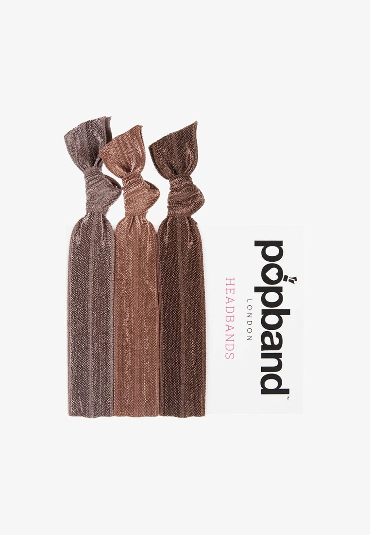 Popband - HEADBANDS - Hair styling accessory - brown