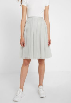 MIDI SKIRT - A-line skirt - spearmint