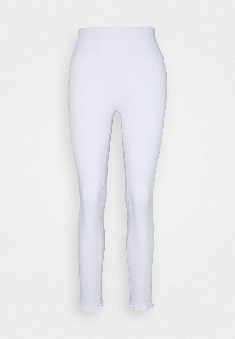 L'urv - CHERISH 7/8 LEGGING - Medias - white