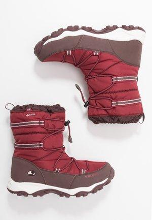 TOFTE GTX - Snowboots  - dark red/wine