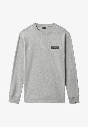 PATCH - Långärmad tröja - medium grey melange