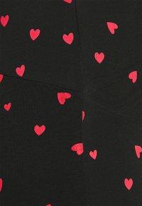 Anna Field MAMA - Szorty - black/multi-coloured - 4