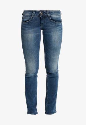 GEN - Straight leg jeans - denim washed down