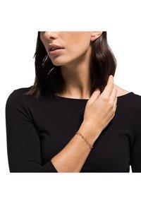 JETTE - JETTE SILVER DAMEN-ARMBAND LUCKY CHARM 925ER SILBER - Bracelet - roségold-coloured - 1