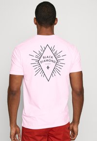 Black Diamond - RAYS POCKET TEE - Print T-shirt - himalayan salt - 2