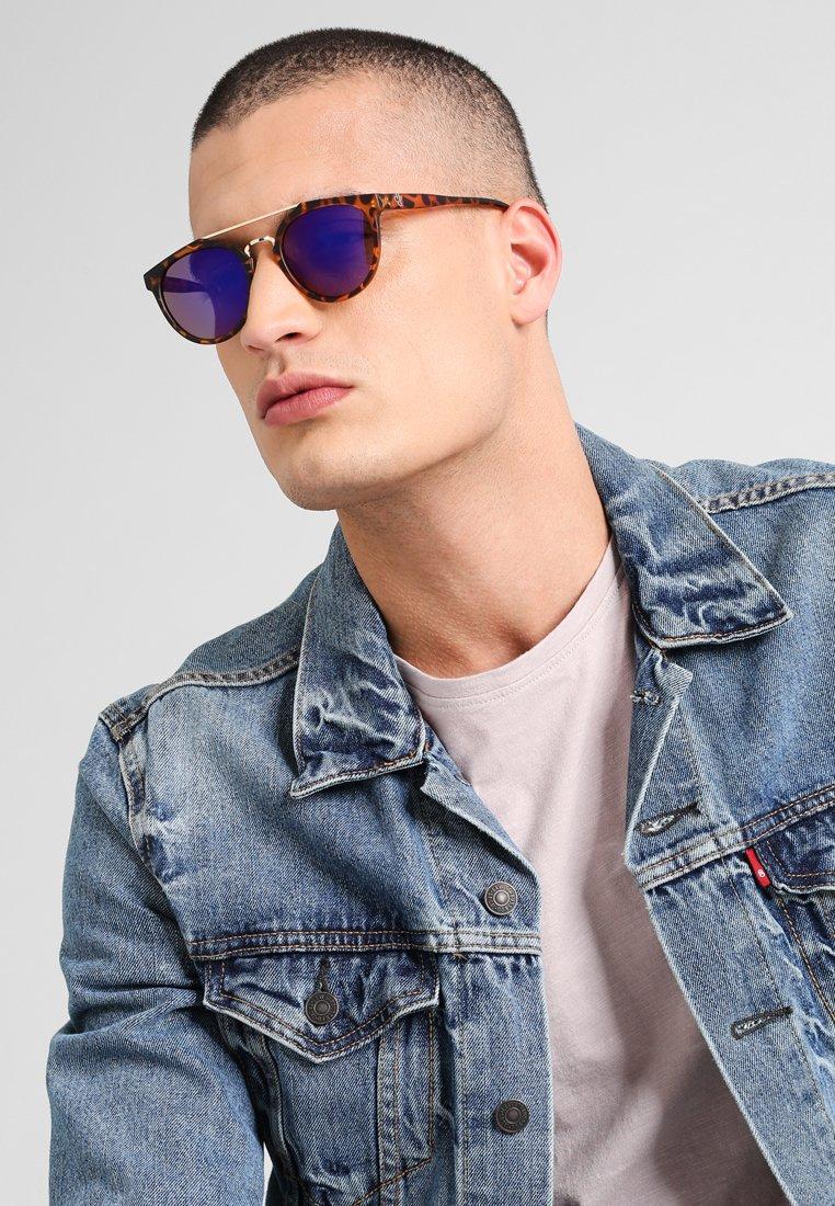CHPO - COPENHAGEN  - Sunglasses - turtle brown/blue mirror