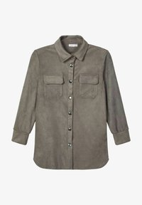 Name it - Button-down blouse - granite grey - 0