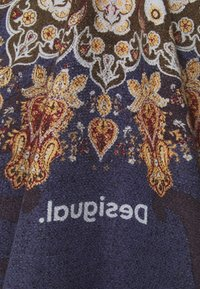 Desigual - PONCHO TAPESTRY REVERSIBLE - Cape - blue - 2
