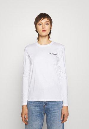 CASUAL TEE LONG SLEEVE - Long sleeved top - white