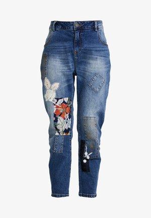 HONG KONG - Jeans relaxed fit - blue denim