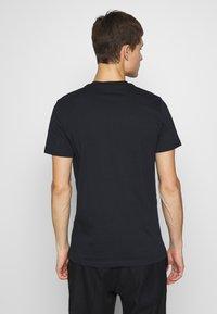 PS Paul Smith - SLIM FIT ZEBRA - Basic T-shirt - navy - 2