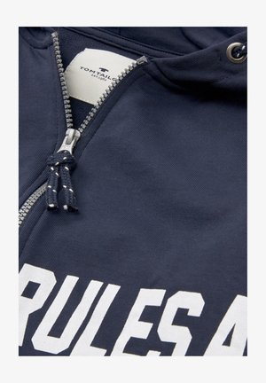 COLORBLOCKING - Hoodie met rits - dress blue blue