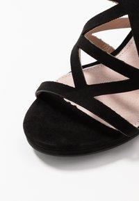 Mariamare - Sandály na vysokém podpatku - black - 2