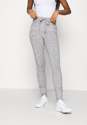 SANDRA TROUSERS - Tracksuit bottoms - grey melange
