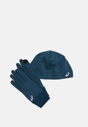 RUNNING PACK SET UNISEX - Gloves - magnetic blue