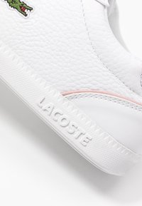 Lacoste - GRADUATE CAP - Baskets basses - white/light pink