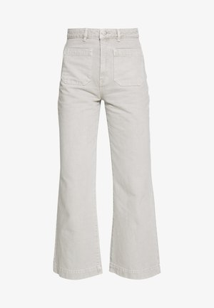 SAILOR - Flared jeans - stone