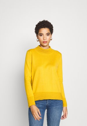 TURTLENECK - Jumper - brass yellow