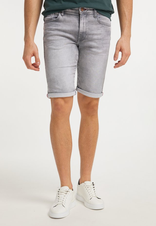 Shorts di jeans - dusty silver