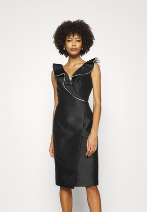 STYLE  - Cocktailjurk -  black/offwhite