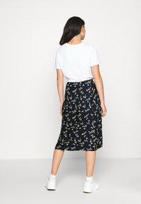 ICHI - IHKAITLINN - A-line skirt - total eclipse - 2
