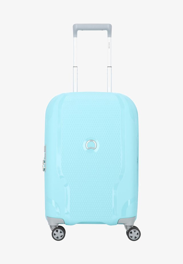 CLAVEL - Wheeled suitcase - blue gray
