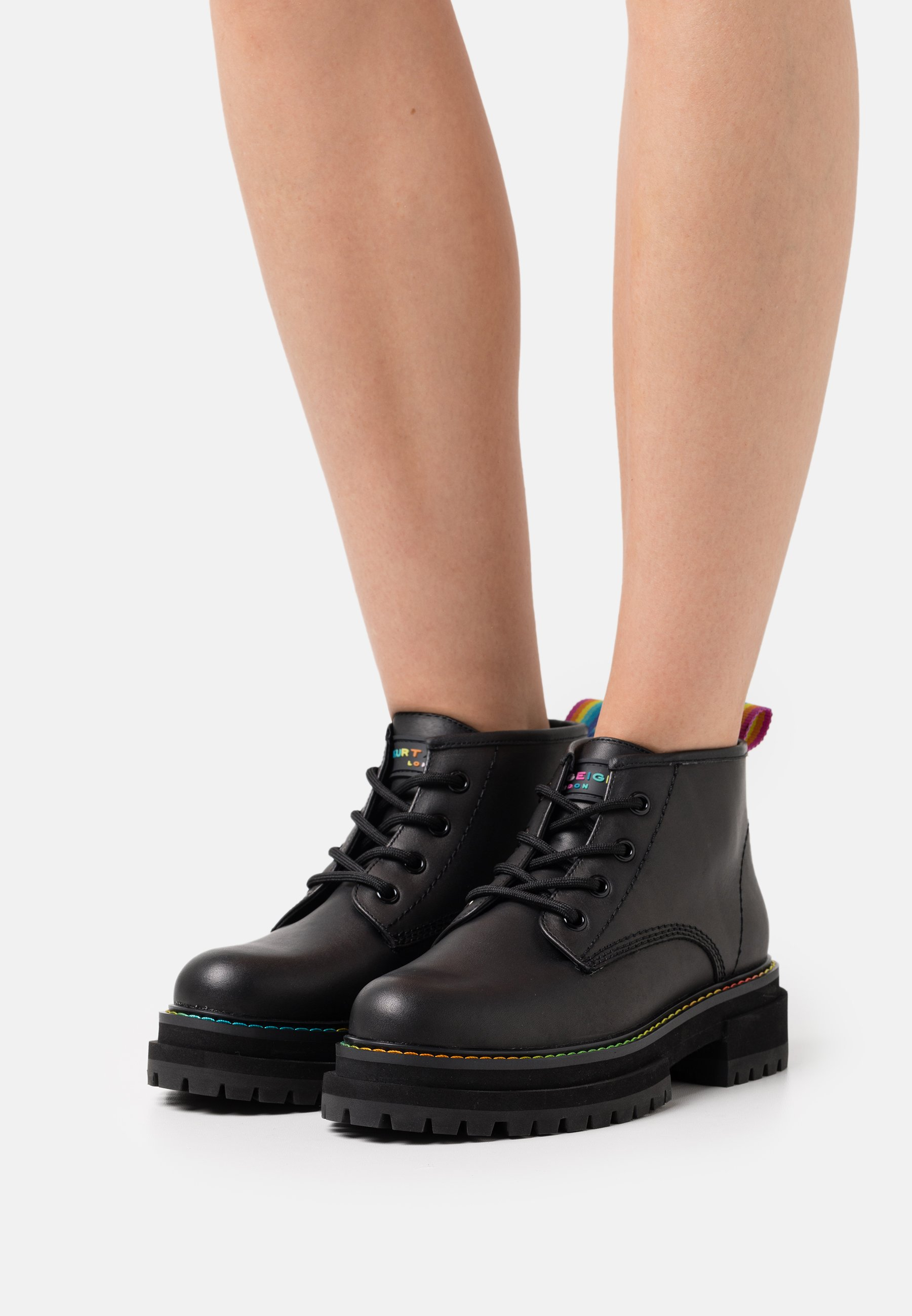 Women BIRDIE LOW - Lace-up ankle boots