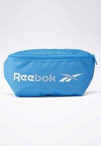 Reebok - TRAINING ESSENTIALS WAIST BAG - Bum bag - blue - 0