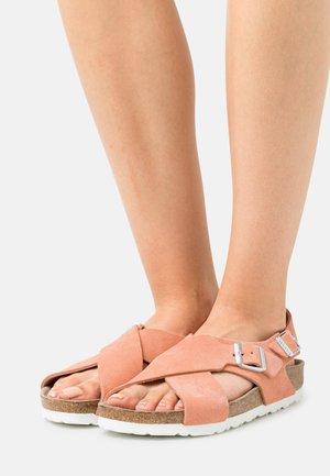 TULUM  - Sandals - coral peach