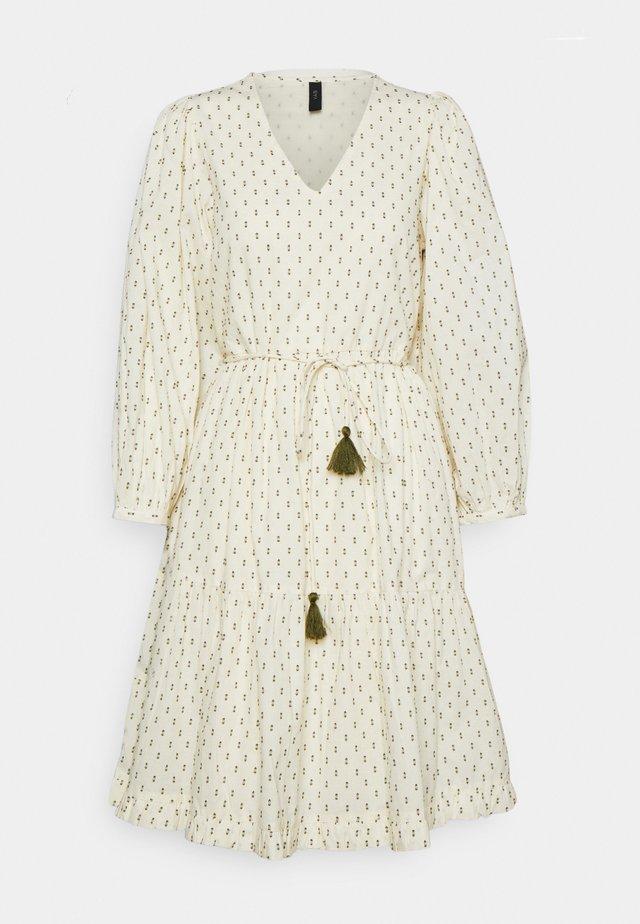 YASFAHMO DRESS FEST - Denní šaty - eggnog