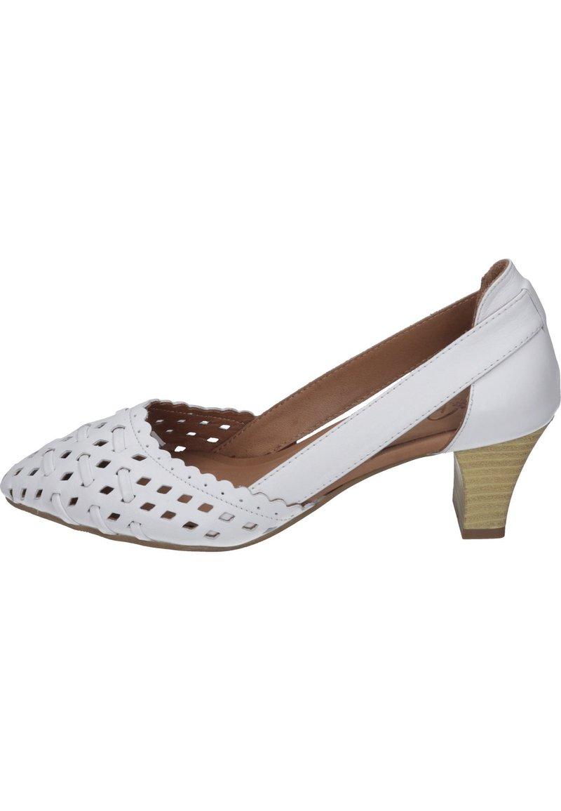 Piazza - Classic heels - weiß