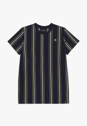 ALONZO - T-shirt print - navy