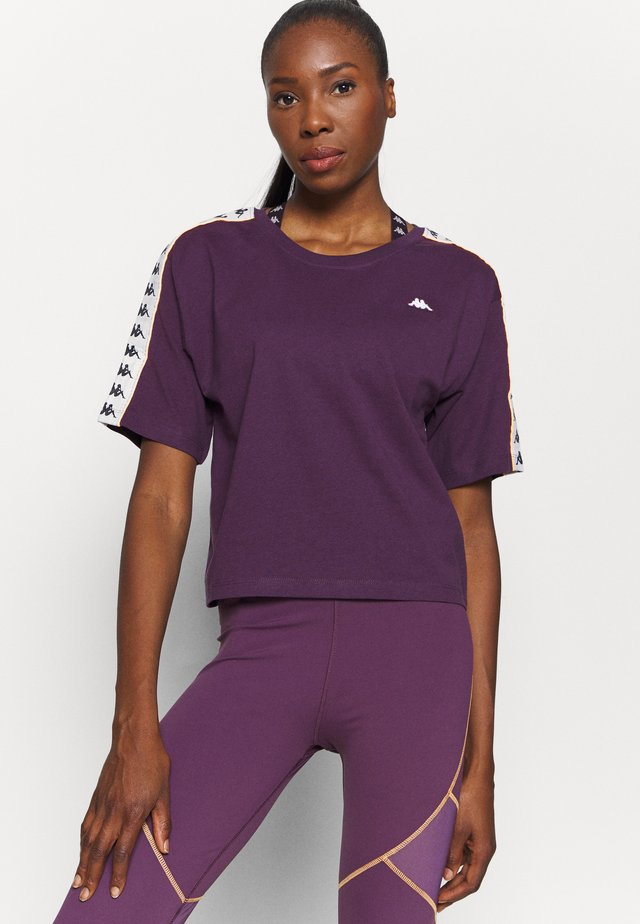 HEDDA - T-shirt con stampa - hortensia