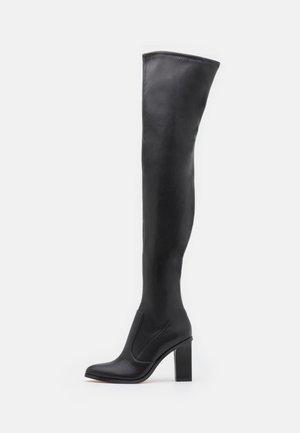 VEGAN SOFIE - Stivali sopra il ginocchio - black