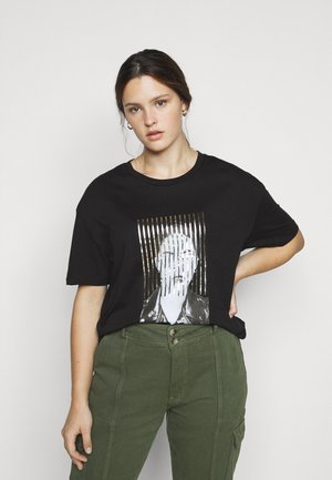 VMJAKITA - T-shirt imprimé - black