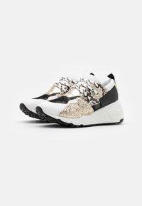 Steve Madden - CLIFF - Sneakers - white/gold - 2