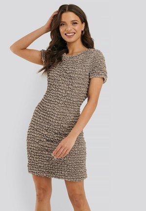 Shift dress - dark beige