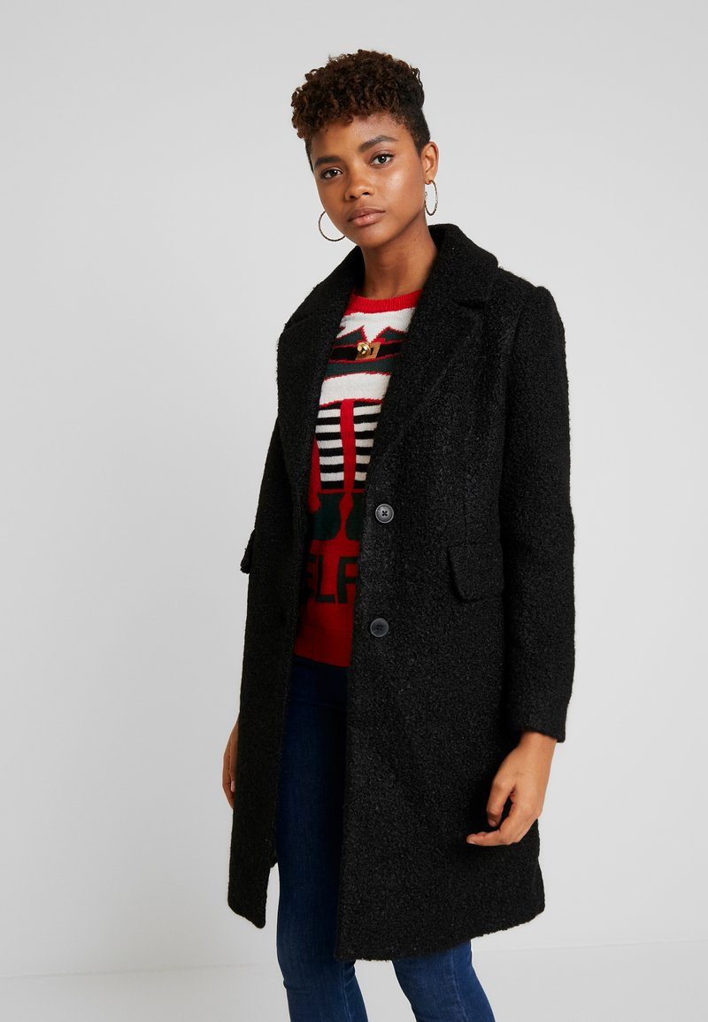 Vero Moda - VMCOZYDIANA JACKET - Classic coat - black