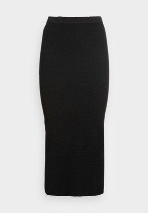 STRAIGHT - Bleistiftrock - black